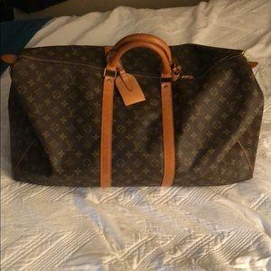 Louis Vuitton Keepall monogram canvas 60 bag